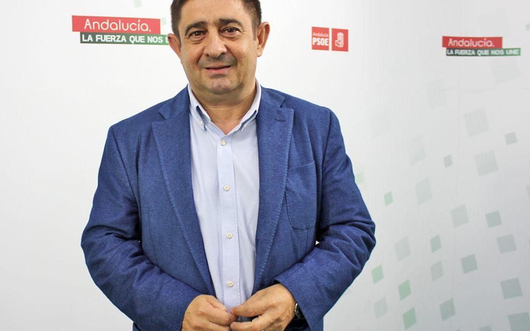 """Reyes valora el 28-F como """"el punto de partida para una Andalucía más próspera, más igualitaria y con más derechos"""""""