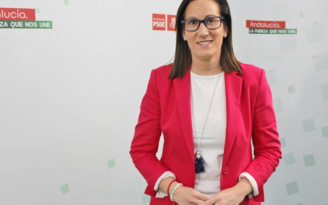 """Francisca Molina: """"la ley LGTBI coloca una vez más a Andalucía como referente de estas políticas y al PSOE como promotor de los avances de calado social"""""""