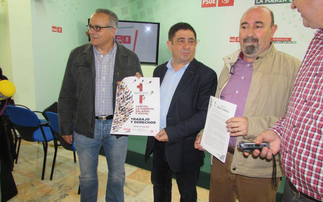 """Reyes ve """"más justificadas que nunca"""" las manifestaciones del 1 de Mayo"""