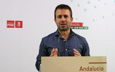 """El PSOE califica de """"humor negro"""" que el PP-A mire a la Junta en materia de infraestructuras cuando el Gobierno de España no ha ejecutado ni el 10% de sus presupuestos en los últimos 2 años"""