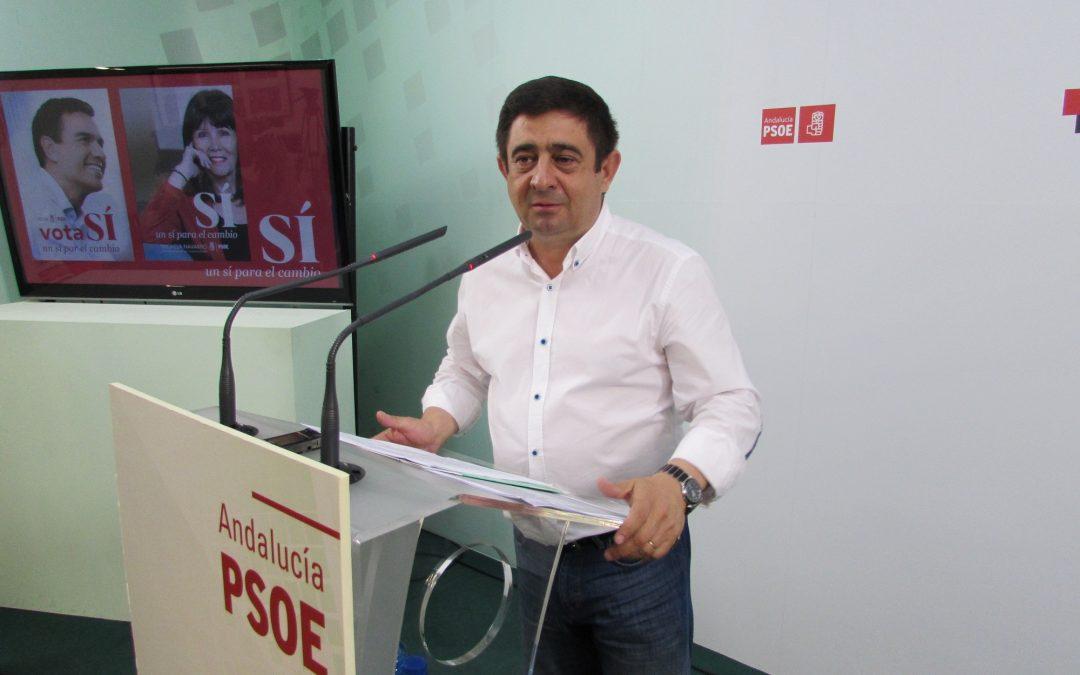 """Francisco Reyes: """"Es la hora del PSOE. El futuro de este país sólo se puede escribir con el rojo de este partido"""""""
