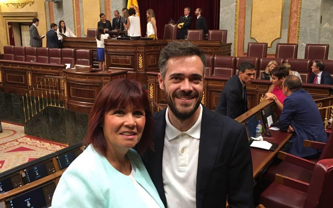 """Reyes destaca que la provincia estará """"perfectamente representada y defendida"""" por los diputados y senadores socialistas"""