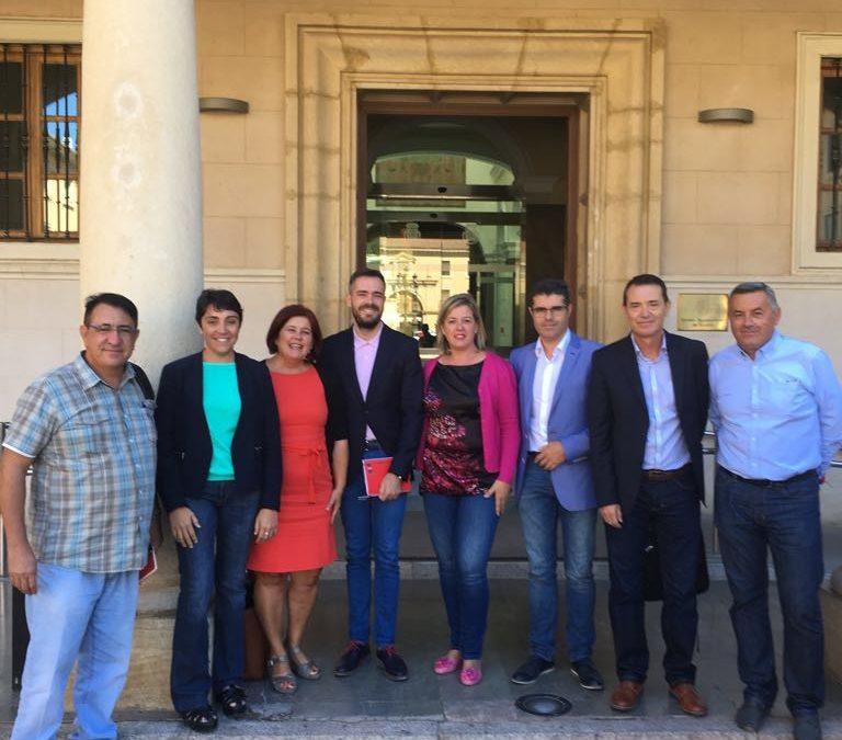 Apoyo total del PSOE de Jaén las reivindicaciones de las Mesas por el Ferrocarril de Jaén, Granada y Almería