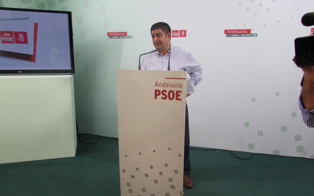 """Reyes cree que De Moya """"no puede irse de rositas"""" por el reguero de irregularidades, escándalos y despilfarros en el Ayuntamiento de Jaén"""