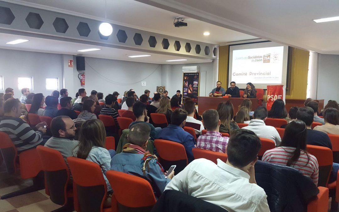 Juventudes Socialistas aprueba una resolución en defensa de la educación pública