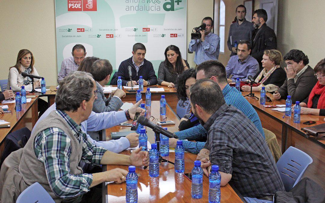 """El PSOE exigirá a Rajoy que """"deje de torear"""" a esta provincia y se comprometa con inversiones en los Presupuestos Generales del Estado"""