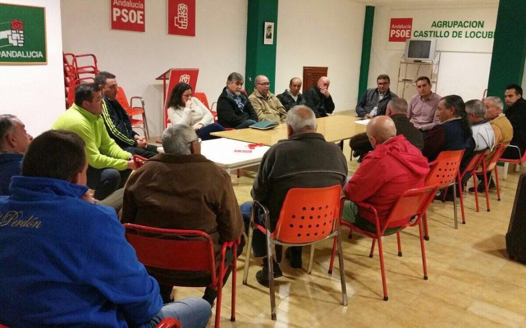 El PSOE de Castillo de Locubín organiza un acto informativo sobre cláusulas suelo