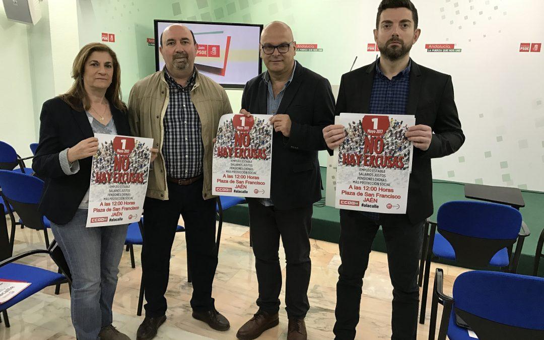 El PSOE se suma a los sindicatos para reclamar la derogación de la reforma laboral y la mejora de los salarios