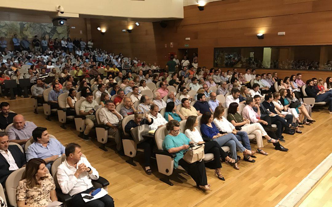 El Congreso Extraordinario elige por asentimiento a los 34 delegados de Jaén al Congreso Federal