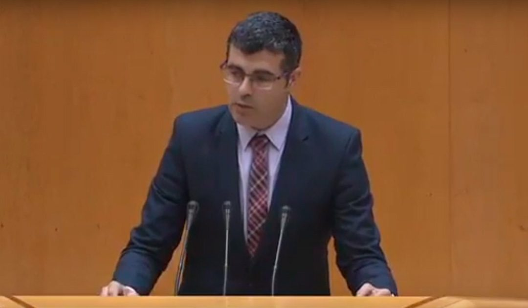 """Delgado exige al PP que """"cese el castigo a la Sierra Sur"""" y destine inversiones a la A-81"""