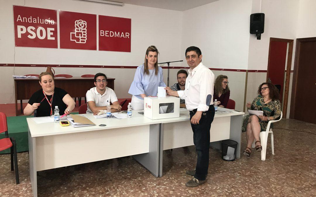 Normalidad en la jornada de votación para elegir al nuevo secretario general