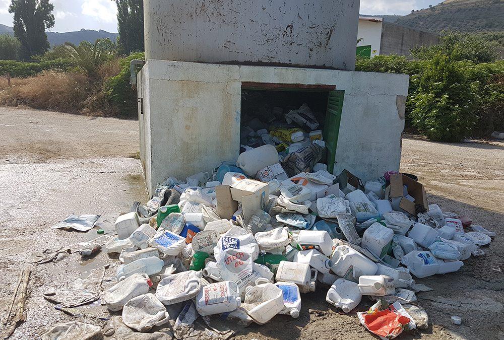 Un vertedero consentido por el Ayuntamiento de Jamilena
