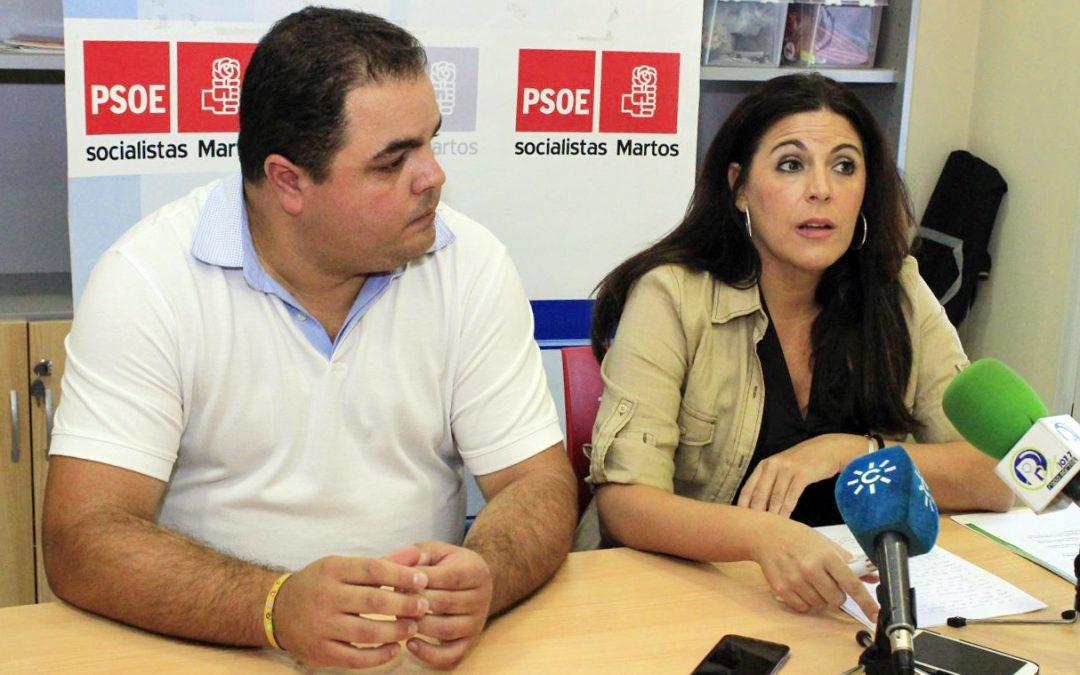 """Ferríz: """"El PSOE ha vuelto a hacer del Ayuntamiento de Martos una palanca de cambio, de transformación y de desarrollo de la ciudad"""""""