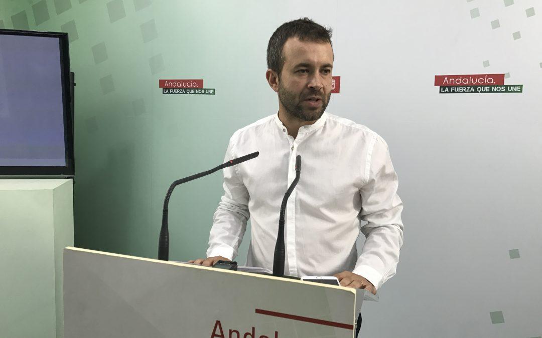 """Julio Millán: """"la provincia de Jaén ha perdido 2.250 días desde que gobierna el PP. Por eso hay que pedir una ITI"""""""