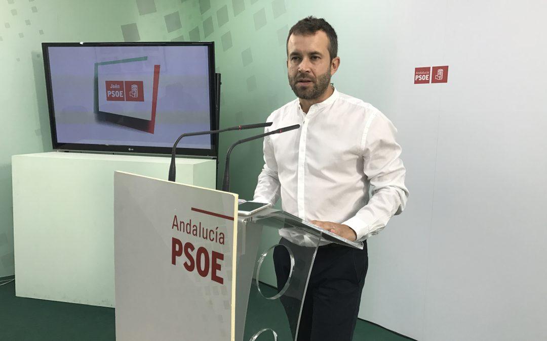 """Millán destaca que el acuerdo PSOE-Ciudadanos es """"un seguro de vida"""" para Andalucía y la provincia de Jaén"""