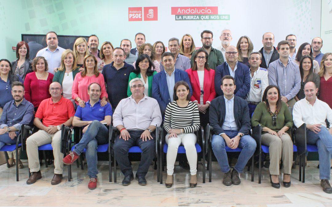 Empleo, Estado del Bienestar y Más PSOE, temáticas de los tres grupos de trabajo que impulsará la nueva Ejecutiva Provincial del PSOE de Jaén