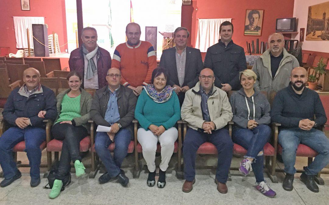 Unanimidad en la asamblea municipal del PSOE de Torredonjimeno para reelegir a Juan Eugenio Ortega como secretario general