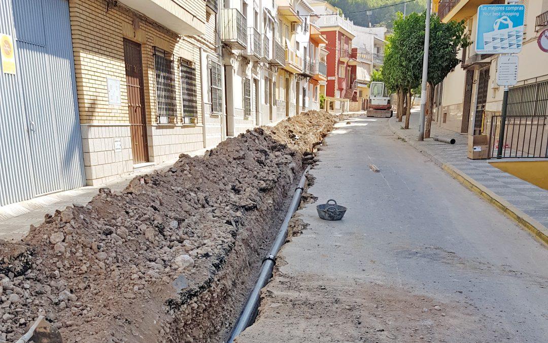 El Defensor del Pueblo Andaluz tendrá que intervenir para que el Ayuntamiento de Jamilena informe sobre la obras del paseo de la Fuente Mayor