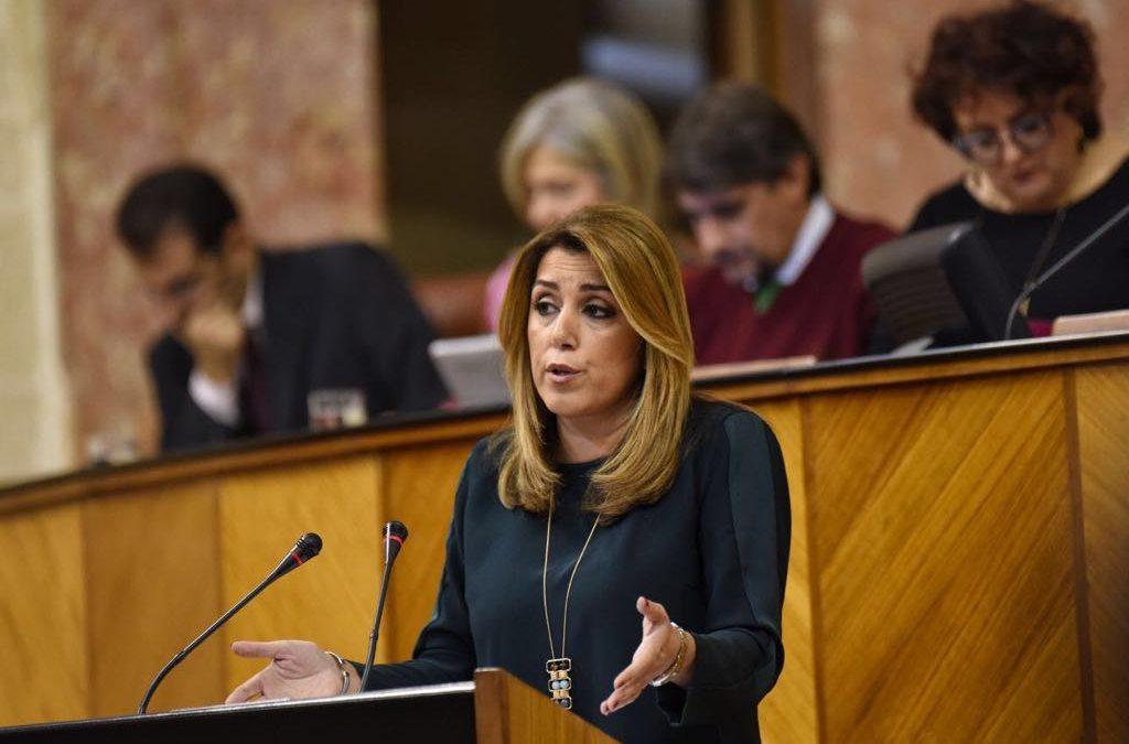 """Reyes valora la """"sensibilidad y compromiso"""" de Susana Díaz con Jaén tras anunciar su implicación con la ITI"""