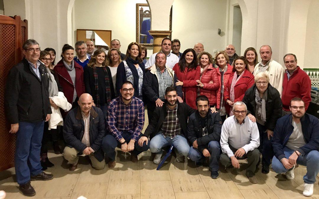 Víctor Torres, reelegido secretario general del PSOE de Martos