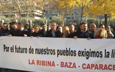 """El PSOE de Jaén exige al Gobierno que ejecute la línea eléctrica Almería-Granada para que 5 municipios de Jaén """"no sean condenados al siglo pasado"""""""
