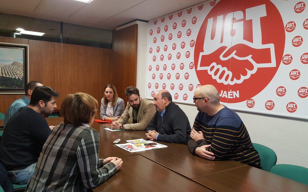 Juventudes Socialistas y UGT se reúnen para abordar la situación del empleo joven en la provincia