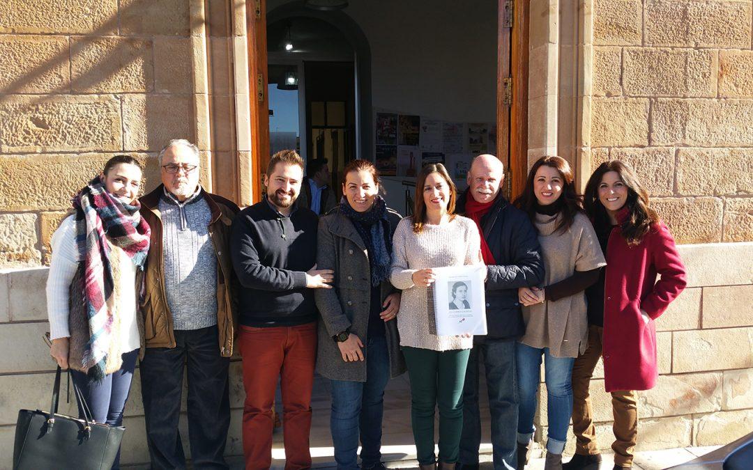 El PSOE de La Carolina registra en el Ayuntamiento el expediente de Ana López Gallego, de 'Las 13 rosas', para su declaración como alcaldesa honoraria