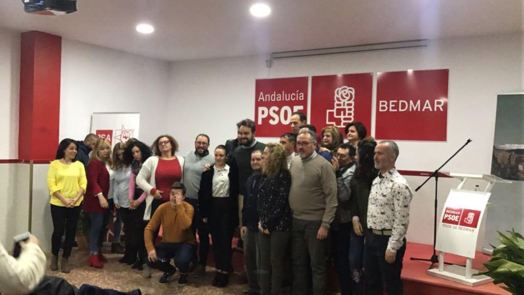 Juan Francisco Serrano, reelegido secretario general del PSOE de Bedmar