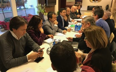 El PSOE se reúne con Jaén Merece Más