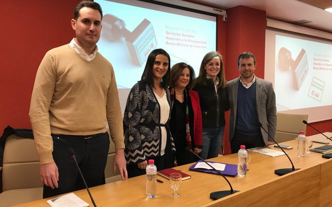 María José Sánchez destaca que 12.000 personas de unas 4.450 unidades familiares se beneficiarán de la Renta Mínima en Jaén