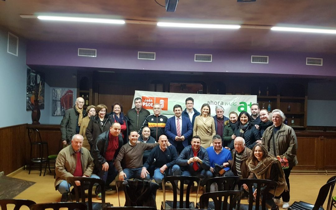 El PSOE escucha a asociaciones y colectivos de Jamilena y pone el acento en las políticas de empleo