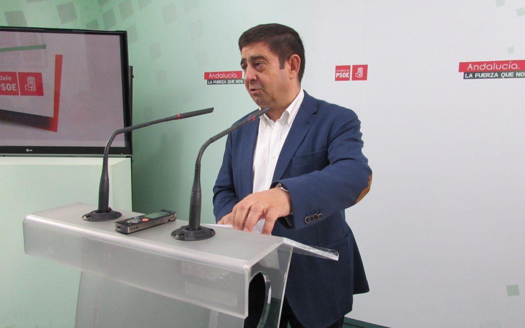 """Reyes recuerda a Bonilla que el Plan Jaén que ahora pide """"ha contado con 0 euros del Gobierno de Rajoy"""" durante 7 años"""