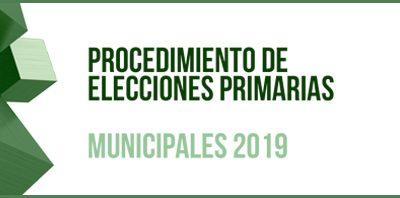 Nota informativa de la Comisión Provincial de Garantías Electorales sobre el proceso de Primarias para candidatos en municipios de más de 20.000 habitantes
