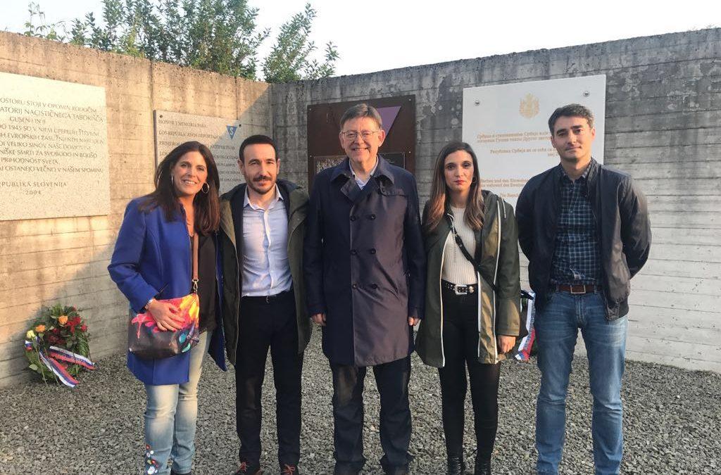 Ángeles Férriz participa en un encuentro sobre memoria histórica en Mauthausen y reivindica la Ley Andaluza para la Justicia y Reparación de las Víctimas