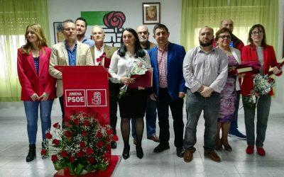El PSOE de Jimena rinde homenaje a sus 6 alcaldes y candidatos desde 1979