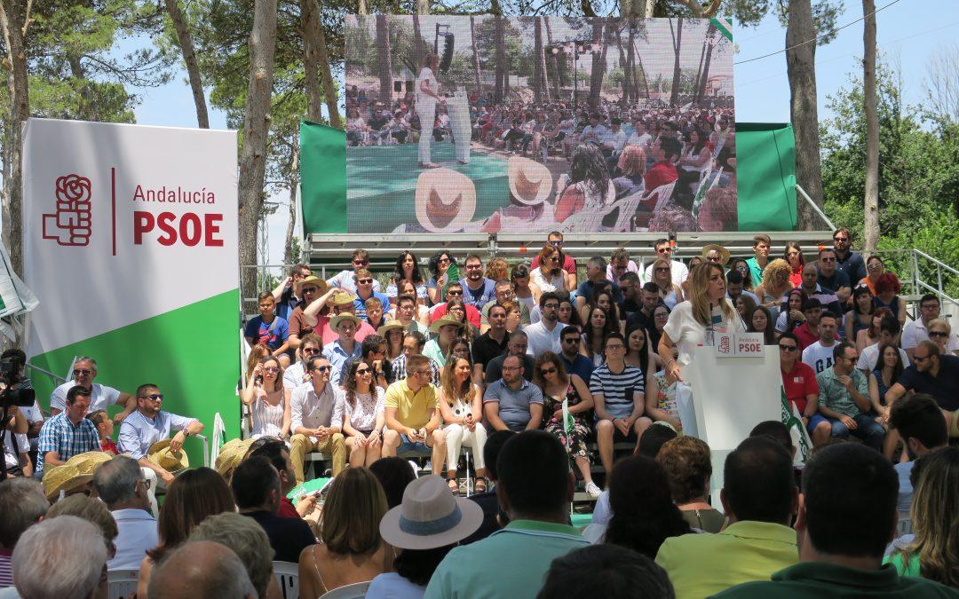 Susana Díaz propone un acuerdo para luchar contra la precariedad laboral