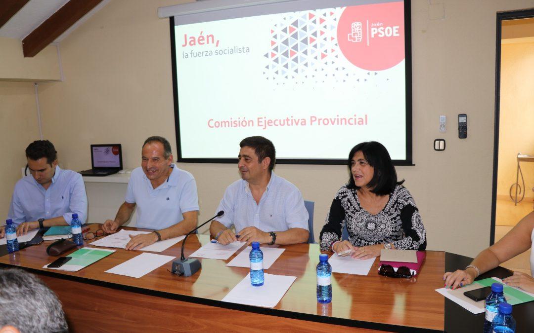 """Reyes: """"No renunciamos a gobernar en ninguno de los 97 municipios de la provincia de Jaén"""""""
