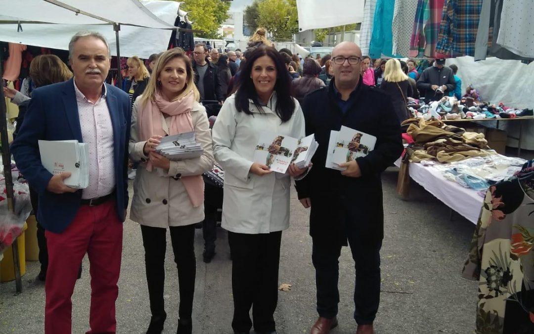 """Férriz, en Torredonjimeno: """"Tenemos a la mejor candidata, Susana Díaz, y el aval del trabajo realizado"""""""