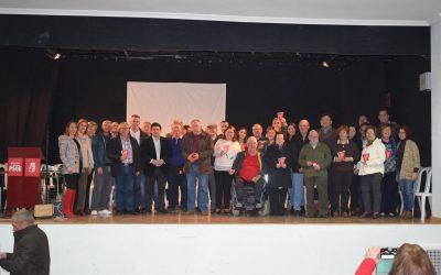 El PSOE de Albanchez de Mágina rinde un emotivo homenaje a los 4 alcaldes y 28 concejales socialistas de la Democracia