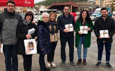 """Férriz, en Alcalá la Real: """"El PSOE puede salir a la calle a contar lo que ha hecho; otros no pueden porque no han hecho nada y tienen que recurrir al insulto"""""""