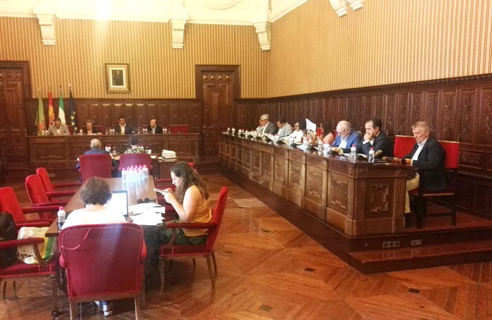 Diputación solicita por unanimidad ayudas para los municipios afectados por el temporal y la ejecución de las obras de abastecimiento del Condado