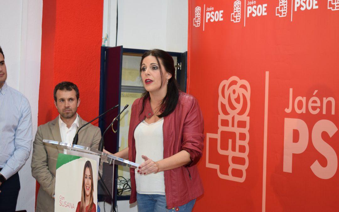 """Ángeles Férriz: """"El único partido que garantiza la educación pública en condiciones de igualdad es el PSOE"""""""