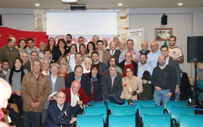 """Reyes ensalza los 100 años del PSOE de Canena: """"Es un homenaje a todos los socialistas que en una época difícil dieron el paso para trabajar por sus pueblos"""""""