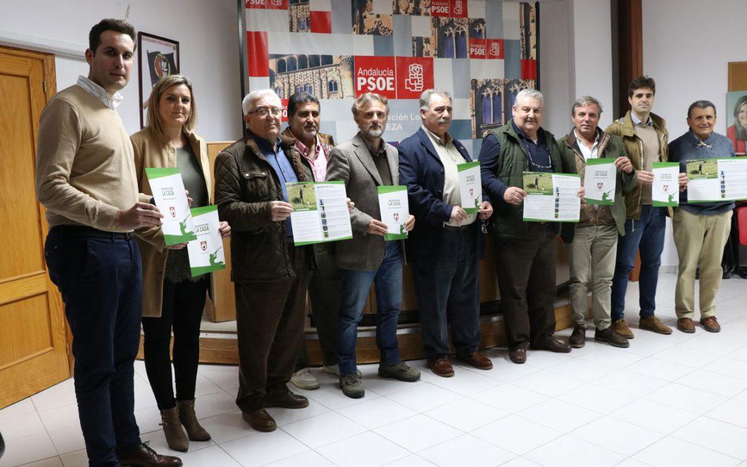 El PSOE muestra su apoyo al manifiesto de la Federación Andaluza de Caza