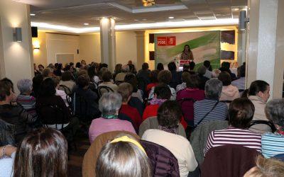 """Micaela Navarro advierte: """"Los derechos se defienden con el voto"""""""