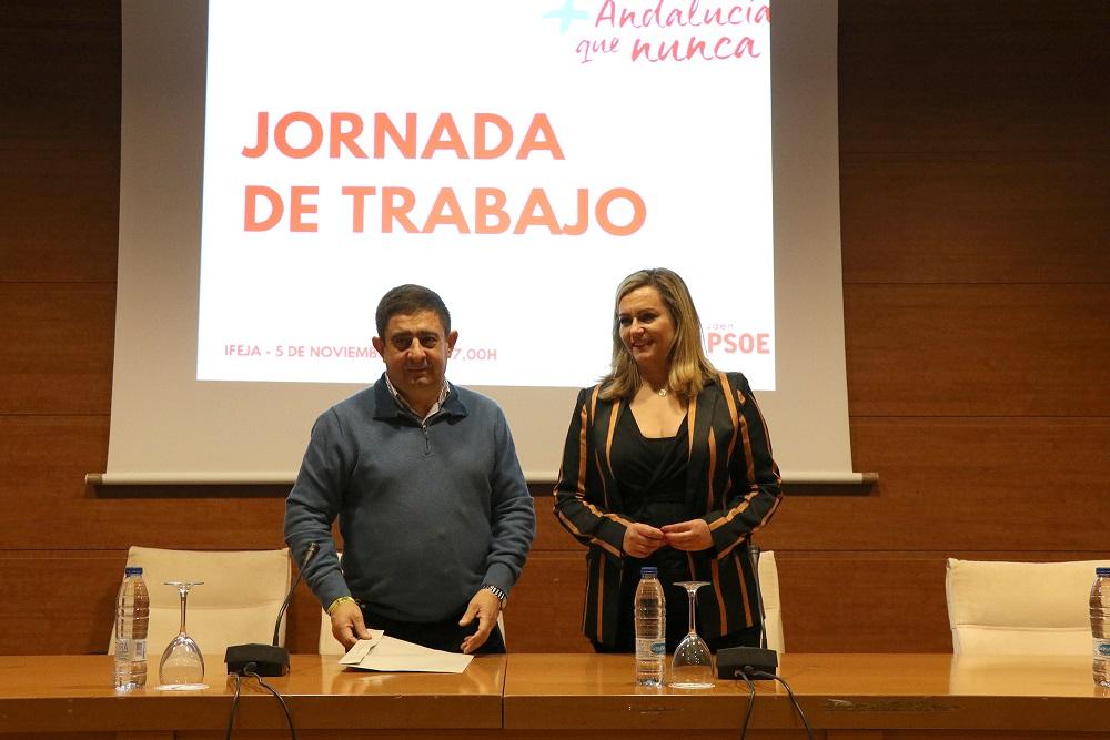 """María Jesús Serrano: """"Si hay un Gobierno que puede presumir de municipalista, ése es el Gobierno andaluz"""""""