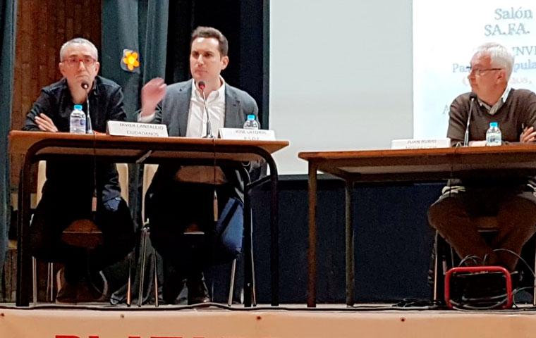 Latorre advierte que el PSOE es «el único partido que garantiza una política social de profundo calado para los mayores»