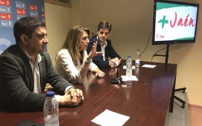 Susana Díaz interviene ante los Comités Comarcales de La Loma, Campiña, Noroeste y Cazorla