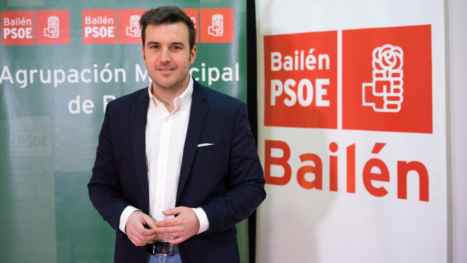 """El PSOE exige al alcalde de Bailén que dé la cara por el """"rosario de irregularidades"""" desveladas por la Cámara de Cuentas"""