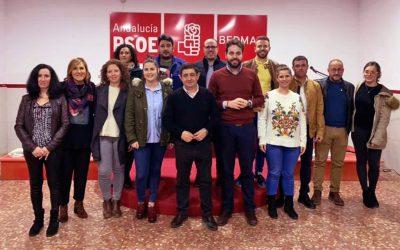 La Asamblea del PSOE de Bedmar aprueba por unanimidad la candidatura que encabeza Juan Francisco Serrano